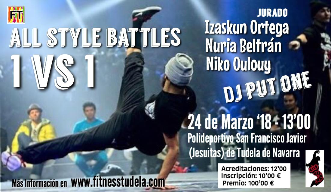 Campeonato navarro de hip hop 2018