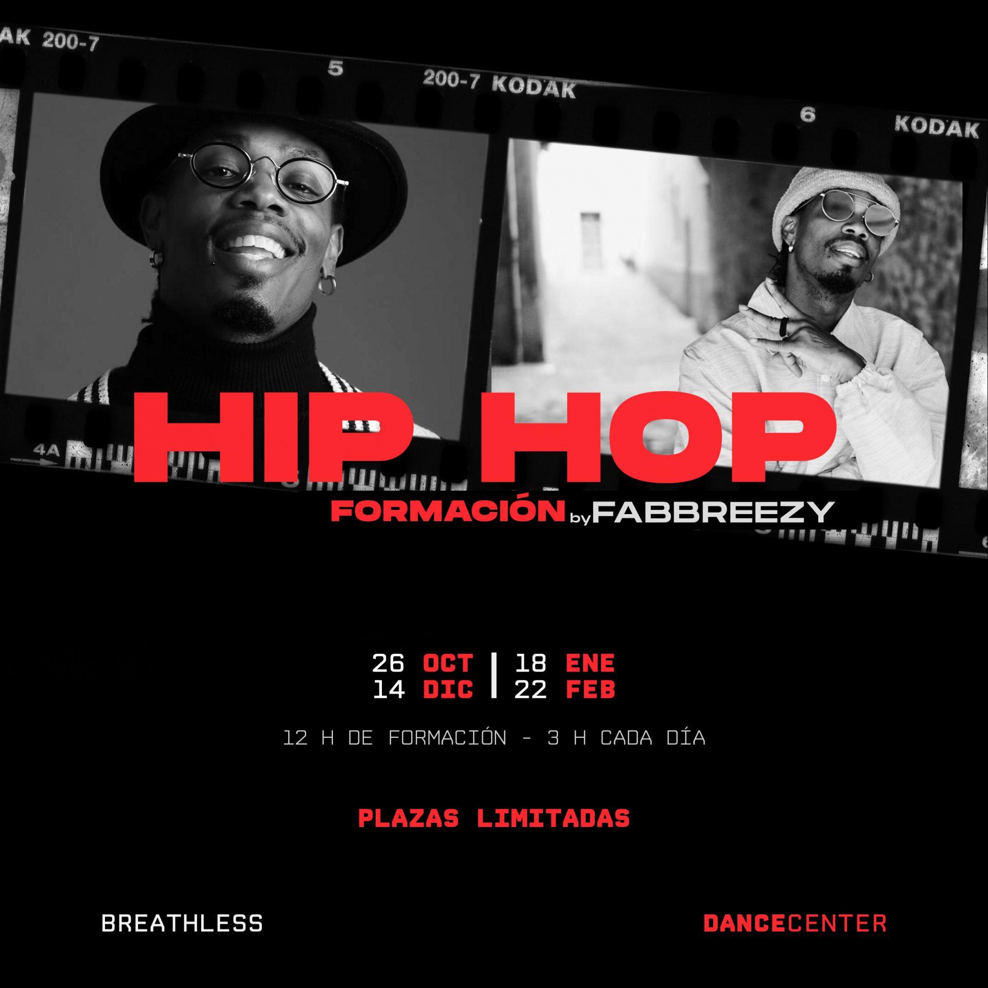 Formación de Hip Hop con Fabbreezy